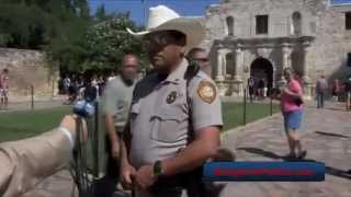 You Have No First Amendment When You Visit The Texas Alamo