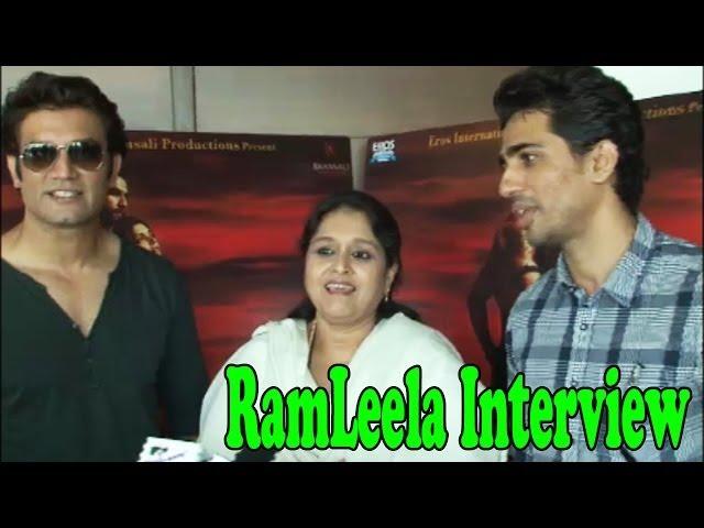 ''Ramleela'' Co-Actor Supriya Pathak, Sharad Kelka Interview