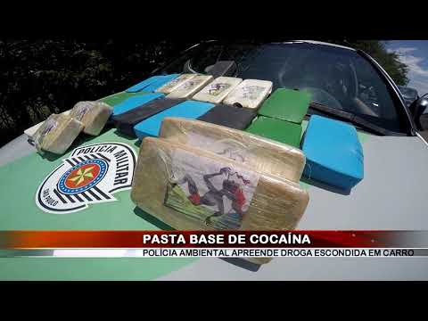 23/02/2019 - Polícia Ambiental apreende 21 tijolos de pasta base de cocaína em Barretos