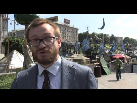 What do the people at Maidan square think of EU elections 2014?