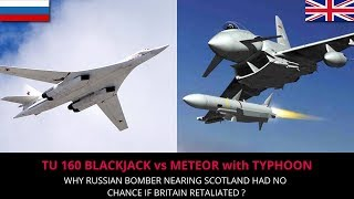 TU 160 vs METEOR with TYPHOON - FULL ANALYSIS