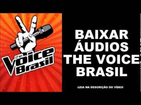 Download áudios The Voice Brasil