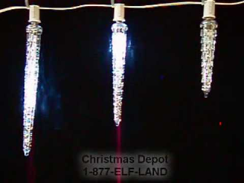 dripping icicle drops youtube. Black Bedroom Furniture Sets. Home Design Ideas