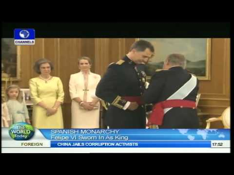 The World Today: Felipe VI Officially Sworn In As King Of Spain