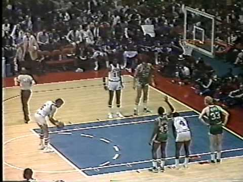Celtics@76ers - 80's Basketball At Its Best (1981 ECF Game 6)