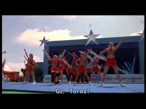 Bring it on cheer off!