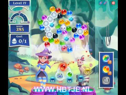 Bubble Witch Saga 2 level 77