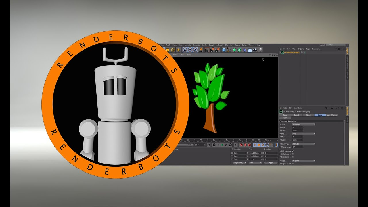 cinema 4d r15 tutorial  installing a plugin - extruding an adobe illustrator file    ai