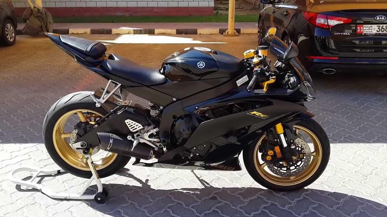 yamaha r6 black 2014 - photo #1