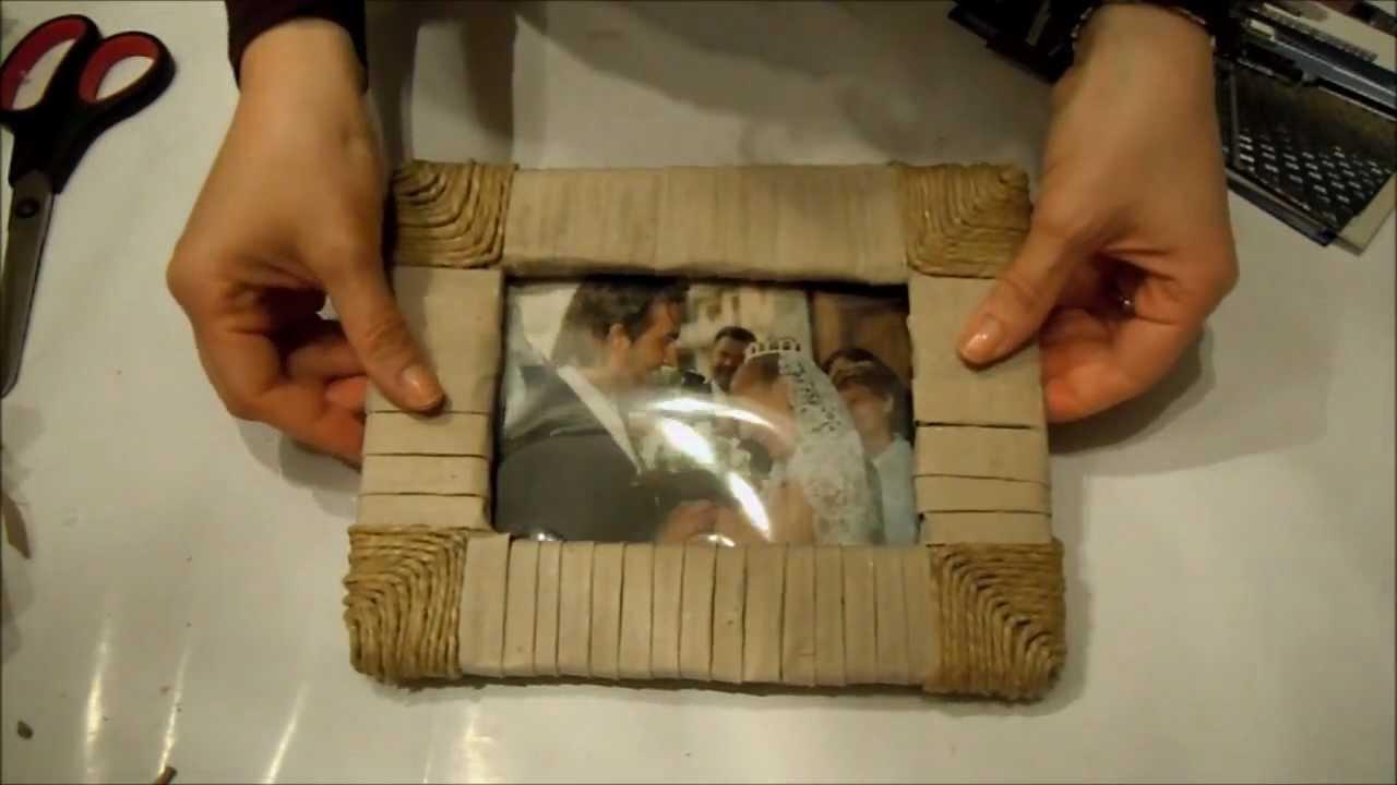 Festa del pap costruiamo una cornice fai da te arte for Laghetto per anatre fai da te