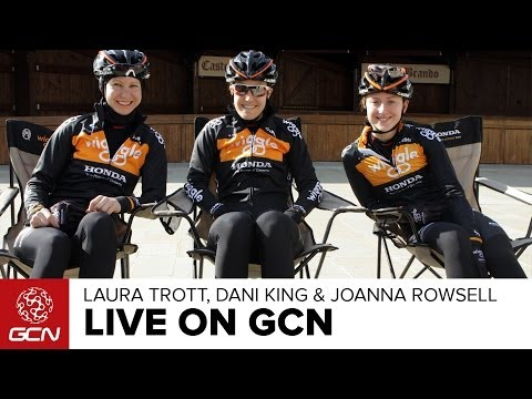 Laura Trott, Dani King And Joanna Rowsell Live On GCN