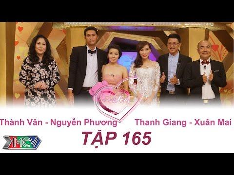 Thành Vân - Nguyễn Phương   Thanh Giang - Xuân Mai   VỢ CHỒNG SON   Tập 165   09/10/2016