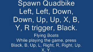 Gta San Andreas All Xbox,xbox 360 Cheat Codes