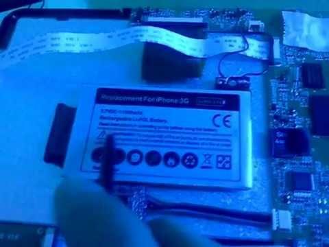 Reemplazar y mejorar batería Tablet M7206 China