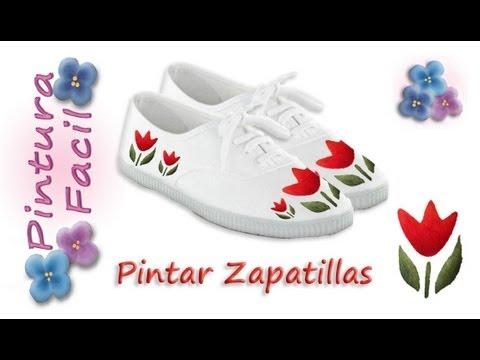 Como pintar zapatillas paint sneakers pintura facil para for Pinturas para pintar