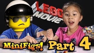 LEGO MOVIE MINIFIGURES!!! Box of Blind Bags Opening - PART 4