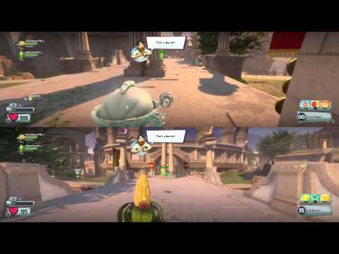Plants Vs Zombies Garden Warfare Ps3 Split Screen Plants Vs Zombies