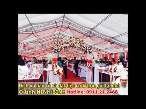Dịch vụ nấu cỗ cưới ở Ninh Bình
