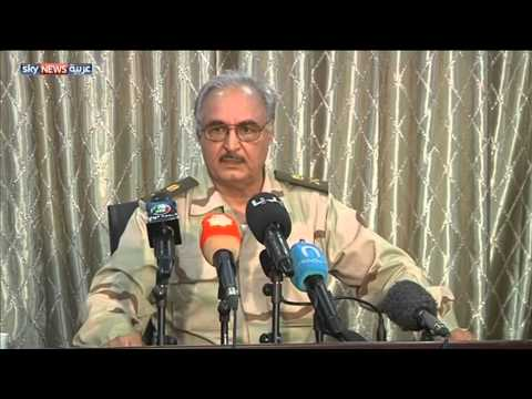 صراعات عسكرية وسياسية فى ليبيا