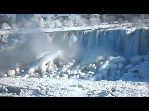 Niagara Falls Frozen After 2014 Polar Vortex