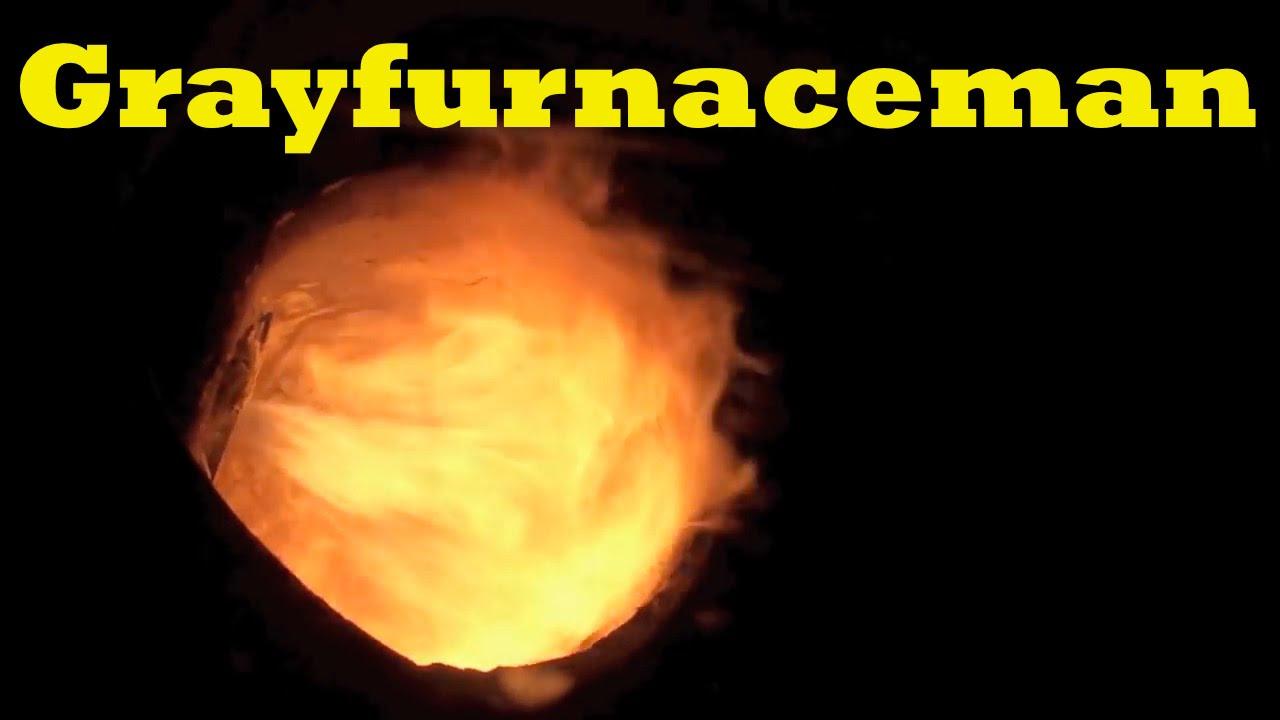 Oil Burner Flame Youtube