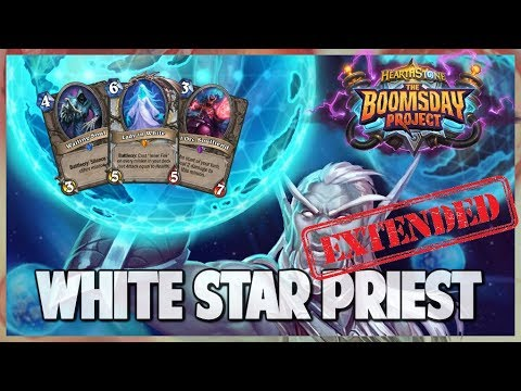 White Star Priest | Extended Gameplay | Hearthstone | Boomsday Project