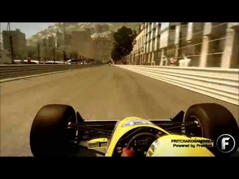 F1 2014 - Blast From The Past - Monaco - Williams FW12 - Onboard