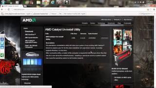 AMD CATALYST CONTROL CENTER Solucion Problema Para Abrir O