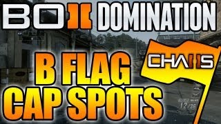 BO2 - B-Flag Capture Spots in Domination (Black Ops 2 Tips)