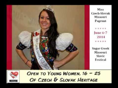 Miss Czech-Slovak Missouri Pageant Announcement