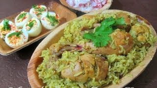 Kozhi Biryani Cooking Methods Today recipe By Tamil Chef