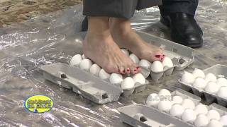 Walking On Eggs Cool Science Experiment