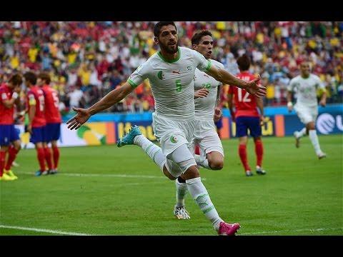 Algeria VS South korea - Goal FIFA World Cup 2014 الجزائر ضد كوريا كأس العالم