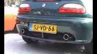 MGF Exhaust Test