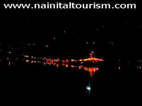 Nainital At Night Parshan Devi Mandir Naina Devi Mandir