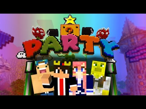 MINECRAFT PARTY GAMES WITH FRIENDS!
