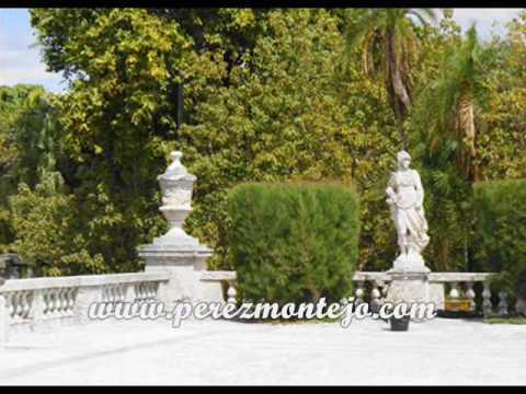 Jardines palacio de vizcaya miami florida usa youtube for Florida v jardines
