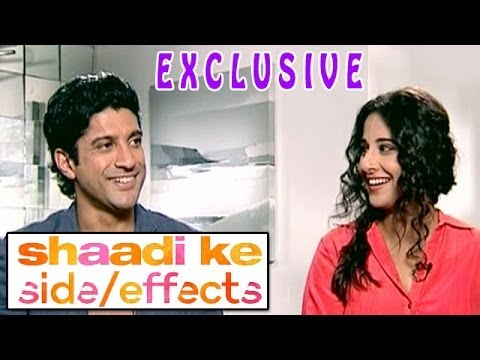 Shaadi Ke Side Effects | Vidya Balan & Farhan Akhtar Exclusive Interview