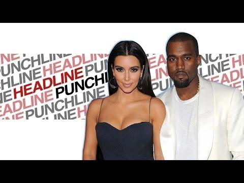 Headline Punchline: Kim and Kayne's Free Paris Wedding | DAILY REHASH | Ora TV