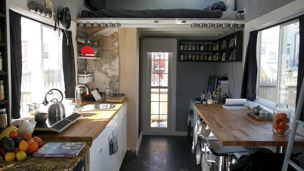 A Dwell Magazine tiny house in the city Boneyard Studios
