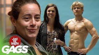 Zvádzanie žien na svaly - skrytá kamera