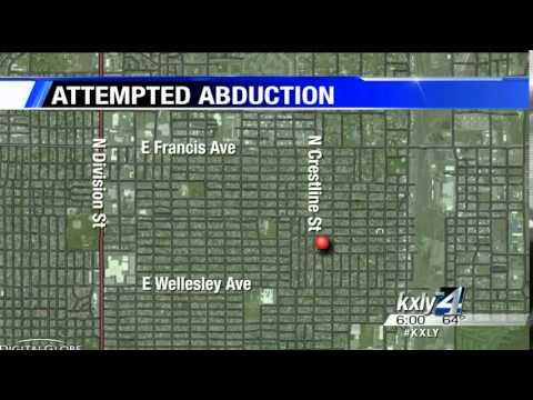 Spokane Police investigate attempted child abduction