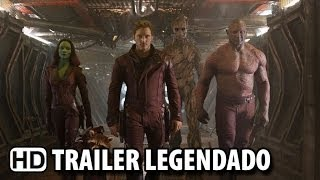 Guardiões Da Galáxia Trailer Oficial Legendado (2014) HD