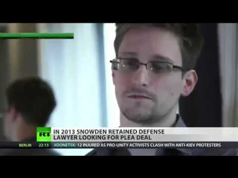 Snowden considering plea deal with government