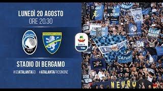 #AtalantaFrosinone, 1ª giornata di Serie A TIM 2018-2019