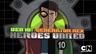 Ben 10 / Generator Rex Heroes United Трейлер [HD