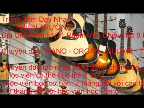 Day Guitar, Organ Gò Vấp, Quận Gò Vấp Thầy TRƯỜNG 01675575377