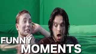 Captain America: Civil War Cast (FUNNY MOMENTS)
