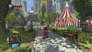 LEGO Marvel Super Heroes Open World Free Roam Central