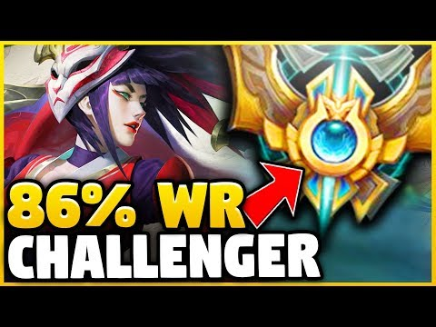 *NEW* KR CHALLENGER 86% WINRATE AKALI BUILD! SEASON 8 REWORKED AKALI GAMEPLAY - League of Legends